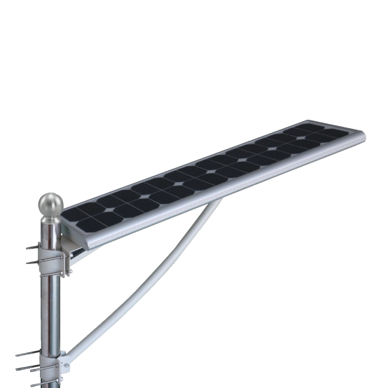 12v High Output Led All In One Solar Street Light Platinum Imports Inc Barbados