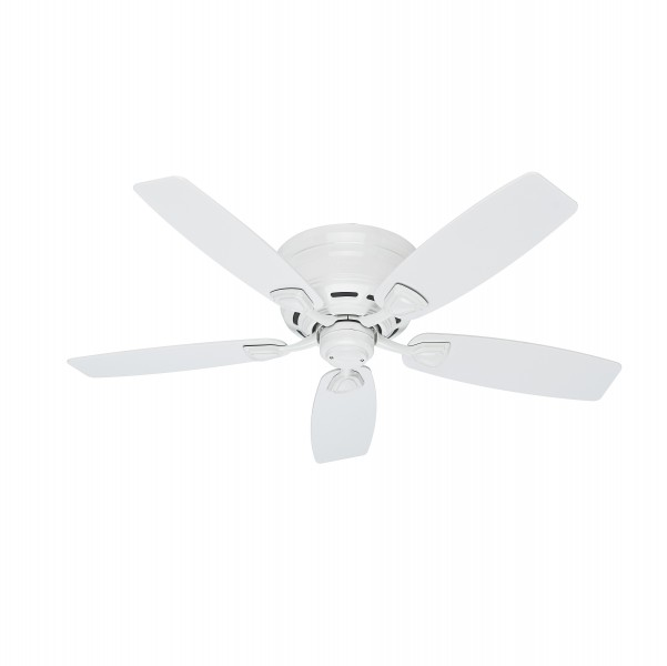 "Hunter Sea Wind 48 White Ceiling Fan At Menards: Hunter Sea Wind 48"" All Weather Ceiling Fan"