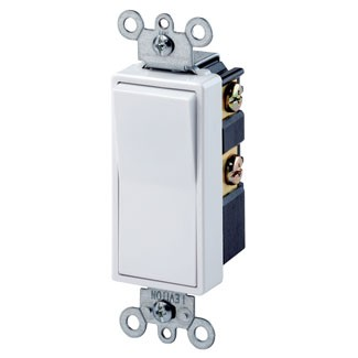 Leviton decora 15 amp 4 way intermediate rocker switch 120277v home3 product categories sciox Choice Image