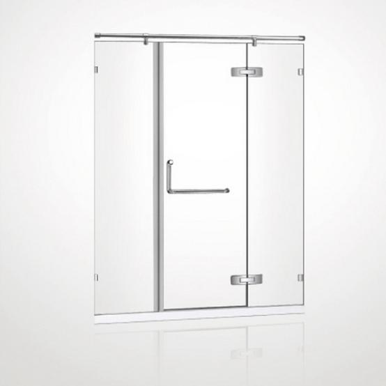 Glacier 8mm Tempered Glass Swinging Door Amp Panel Set
