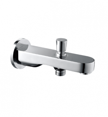 cae straight solid brass curved edge tub spout with diverter platinum imports inc barbados. Black Bedroom Furniture Sets. Home Design Ideas