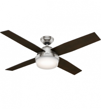 Hunter Dempsey Low Profile With Light 52 Quot Ceiling Fan Platinum Imports Inc Barbados