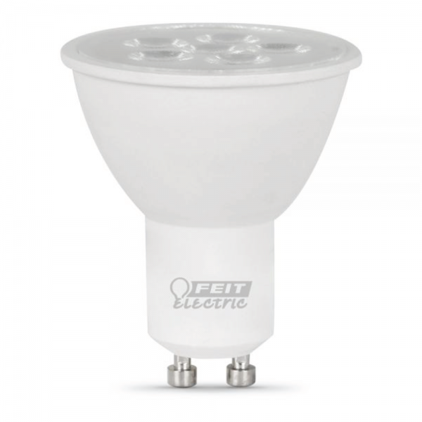 7 Watt 3000k Feit Led Dimmable Gu10 Base Mr16 Light Bulb: Feit 7.5 Watt 5000K GU10 LED Bulb