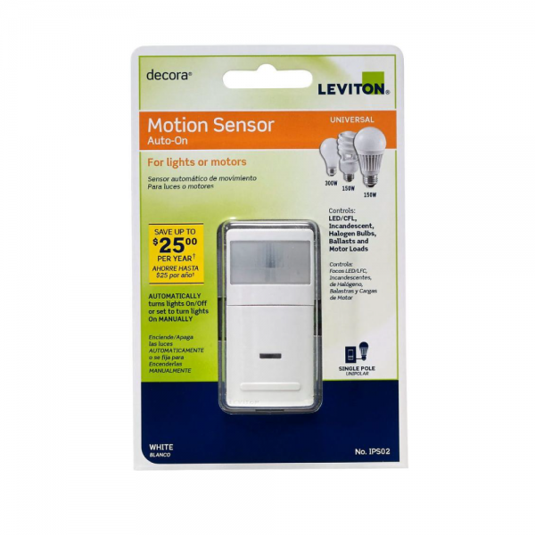 Leviton Decora 180 Degree Occupancy Motion Detector
