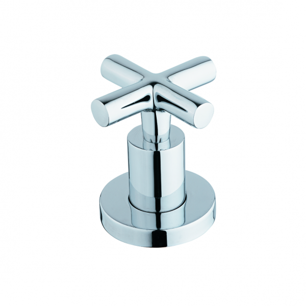 CAE Cross Handle In Wall Concealed Shower Faucet | Platinum Imports ...