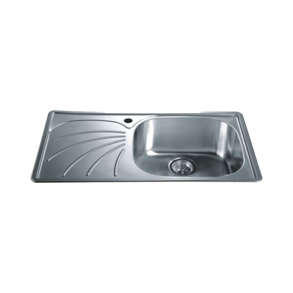 Fine Cae Top Mounted Single Bowl 20 Gauge T304 Grade Stainless Home Interior And Landscaping Palasignezvosmurscom