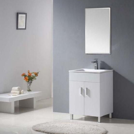Glacier Euro PL-1020 PVC Cabinet Unit With Ceramic